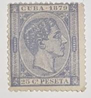 Timbre Cuba 1879 - Unclassified
