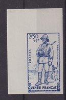 GUINEE : N° 171 A . ND . CDF . SANS CHARNIERE . LUXE . 1941 . - Guinée Française (1892-1944)