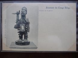 CPA - Souvenir Du Congo Belge - Fétiches De La Guerre - Congo Belge - Autres