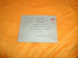 ENVELOPPE UNIQUEMENT DE 1967../ GEORGES PLUMET COUVERTURE ZINGUERIE SISSONNE.....CACHET + TIMBRE - Poststempel (Briefe)