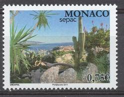 TIMBRE - MONACO - 2011 - Nr 2779 - Neuf - Mónaco