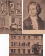 2610      186         Hotel Weisses Ross. Goethehaus. Der Junge Goethe, Illustrator Von E. Harder. Dichterecke Im - Bingen