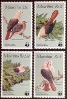 Mauritius 1985 WWF Pink Pigeon Birds MNH - Oiseaux