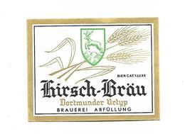 ETIQUETTE BIERE KIRSCH BRAU / BR. ABFÜLLUNG - Beer