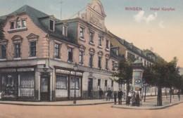 2610199Bingen, Hotel Karpfen – 1912. - Bingen