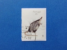 1997 PORTOGALLO PORTUGAL WWF TOUPEIRA D'AGUA 49 FRANCOBOLLO USATO STAMP USED - Usati