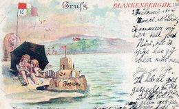 BLANKENBERGHE : Grufs - Familie Von Schroffenstein - Blankenberge