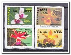 Honduras 2002, Postfris MNH, Flowers, Orchids With Overprint - Honduras