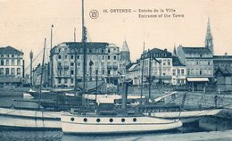 OOSTENDE : Ingang Van Het Stad (Haven) - Oostende