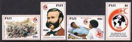 Fiji 1989 125th Anniversary Of Red Cross Set Of 4, MNH, SG 786/9 (BP2) - Fiji (1970-...)