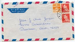 Denmark 1973 Airmail Cover & Letter Helsingør  To Dearborn Michigan - Denmark