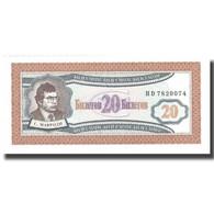Billet, Russie, 20 Rubles, SPL+ - Russia