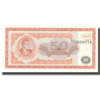 Billet, Russie, 50 Rubles, SPL+ - Russia