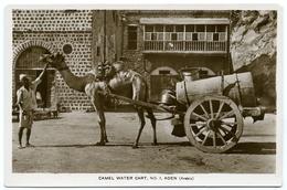 YEMEN / ADEN - CAMEL WATER CART - Yemen