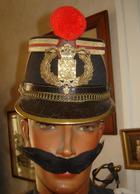 SHAKO GARDE REPUBLICAINE MODELE 1907 - PARFAIT ETAT - Casques & Coiffures
