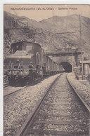 Bardonecchia - Treno Presso Fréjus - 1915       (A-88-100622) - Italien