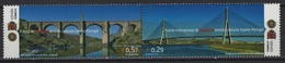 Spain - Espagne (2006) Ed. 4263/64 /  Architecture - Bridges - Ponts - Puentes - Joint Issue With Portugal - Ponti