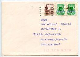 Czech Republic 1997 Cover Ostrava To Wifflingshausen Germany, Scott 2888 & 2967 - Czech Republic