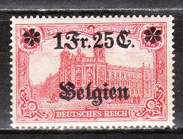 OC8*  Timbre D'Allemagne Surchargé - Bonne Valeur - MH* - LOOK!!!! - [OC1/25] Gen.reg.