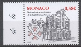 TIMBRE - MONACO - 2011 - Nr 2776 -  - Neuf - Monaco