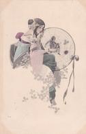 Jugendstil  ,  Preso Nel Telaio- Ragnatela  -  Ill.  Hruby S.  -  Edit.  Zagrab ( ? ) - Illustratori & Fotografie
