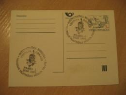 PRAGUE 1995 Museum Cancel Postal Stationery Card CZECH Republic - Tchéquie