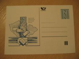 PRAGUE Postovni Prepravni Centrum Postal Stationery Card CZECH Republic - Entiers Postaux