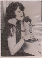 MINUTE GLASS SPEEDS UP TELEPHONE CONVERSATION  20*15CM Fonds Victor FORBIN 1864-1947 - Fotos