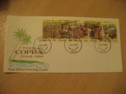 FAKAOFO 1984 COPRA FDC Cancel Cover TOKELAU - Tokelau