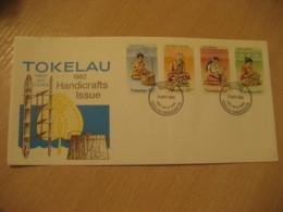 NUKUNONU 1982 Handicrafts FDC Cancel Cover TOKELAU - Tokelau