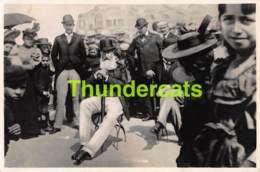 OUDE FOTO OOSTENDE OSTENDE PHOTO AFDRUK  UIT +/- 1920  LEOPOLD II  ( GETROKKEN 1895 ) - Oostende