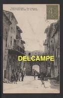 DD / 20 2A CORSE DU SUD / PORTO-VECCHIO / RUE INTÉRIEURE , AU FOND PORTE GENOISE SUR LES SALINES / ANIMÉE / 1919 - France