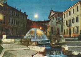 TREVISO -  PIAZZA S. ANDREA,-COLORI,VIAGGIATA 1962- TIMBRO POSTE TREVISO -EDIZ.M.Z.T. - Treviso