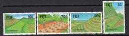 Fiji 1990 Soil Conservation Set Of 4, MNH, SG 811/4 (BP2) - Fiji (1970-...)