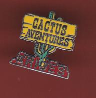 59311-Pin's.Cactus-Aventures.l'association ARIDES - Vereinswesen