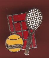 59319-Pin's.Tennis Club Toulon. - Tennis