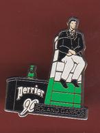 59320-Pin's.Tennis .Roland Garros.Perrier.. - Tennis