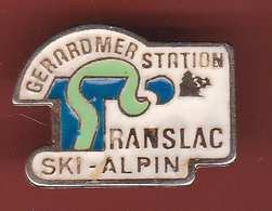 59322-Pin's.Ski Alpin.Gerardmer Station. - Sports D'hiver