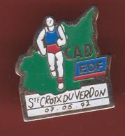 59330-Pin's.Athletisme.CAD.EDF.Sainte Croix Du Verdon... - Athlétisme