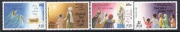 Fiji 1990 Christmas Set Of 4, MNH, SG 819/22 (BP2) - Fiji (1970-...)