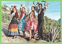 GRANADA / SACROMONTE / GITANOS..... Carte écrite En 1978 - Granada