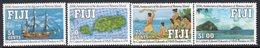 Fiji 1991 Discovery Of Rotuma Island Set Of 4, MNH, SG 827/30 (BP2) - Fiji (1970-...)