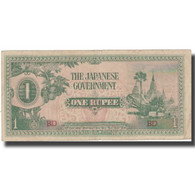 Billet, Birmanie, 1 Rupee, KM:14b, TB+ - Philippines