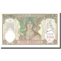 Billet, Tahiti, 100 Francs, KM:14A, SUP+ - Indochine