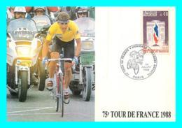 A745 / 171   75e TOUR DE France 1988 - Cyclisme - Marcophilie (Lettres)