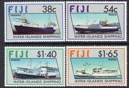 Fiji 1992 Inter-Island Shipping Set Of 4, MNH, SG 847/50 (BP2) - Fiji (1970-...)