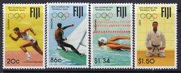Fiji 1992 Olympic Games Set Of 4, MNH, SG 851/4 (BP2) - Fiji (1970-...)