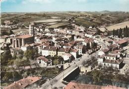 Gers : LOMBEZ : Vue Aérienne Générale Et Pont Sur La Save ( C.p.s.m. - Grand Format ) - Autres Communes
