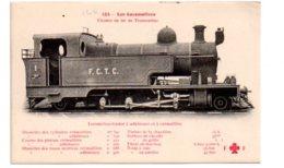 Lot 6-Les Locomotives - Chemin De Fer De Transandine -locomotive Tender à Adhérence - Eisenbahnen