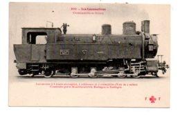 Lot 6-Les Locomotives - Chemin De Fer De Bolivie - Locomotive à 8 Roues - Trains